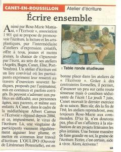 Canet Le petit Journal juin 2007